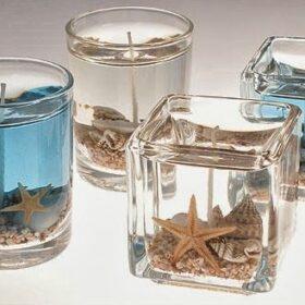 Wax candle, candle, Gel candle, Gel wax
