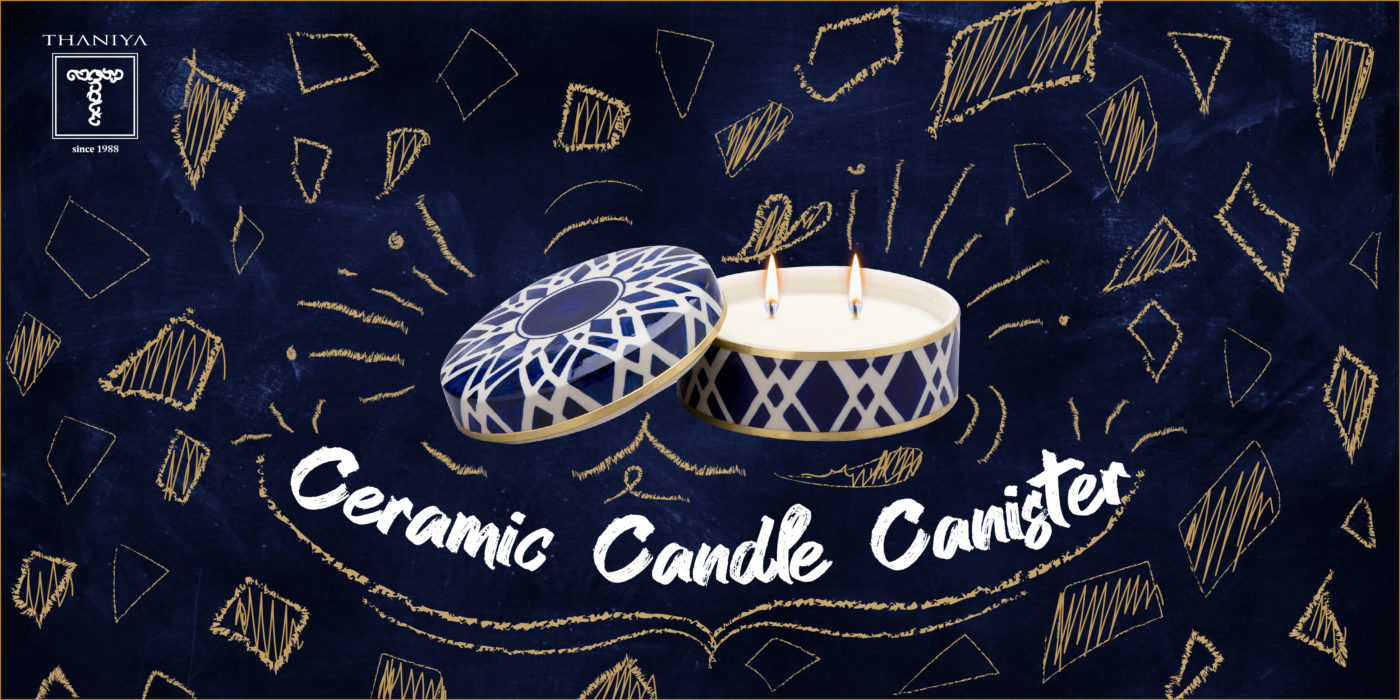 Thaniya Ceramic candle