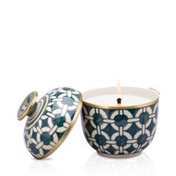 ceramic in candle